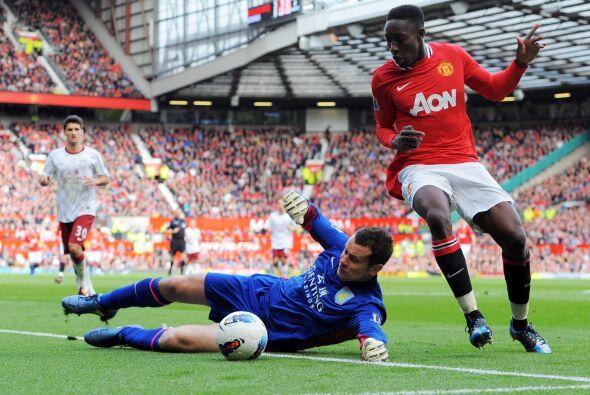 Danny Welbeck, que fue parte de los titulares, quería su gol.