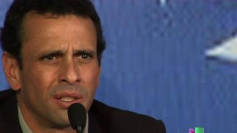 Capriles acepta ser el candidato de la oposición en Venezuela