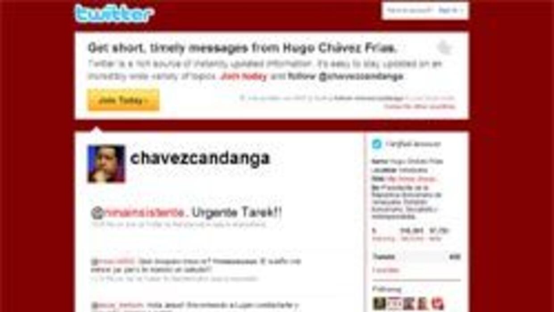 Twitter de Hugo Chávez alcancó medio millón de seguidores en un  mes 38a...