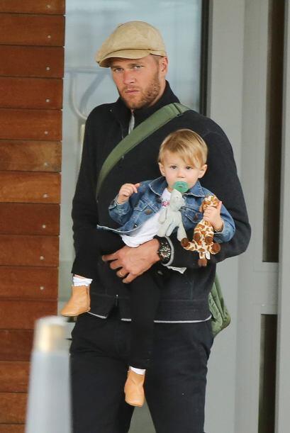 Tom y Benjamín Brady saben cómo lucir bien
