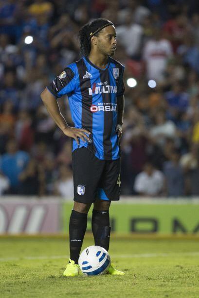 De igual manera, los reflectores que tiene Ronaldinho podrían crear algú...