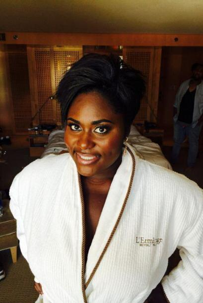 Danielle Brooks de la serie 'Orange Is the New Black', perdió el pudor y...