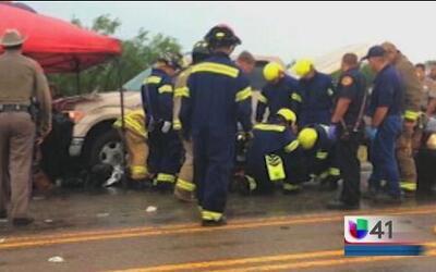 Investigan las causas de accidente que cobró la vida de nueve personas