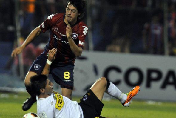 Gracias a su doblete, el punta Nanni, ex jugador de San Lorenzo y V&eacu...