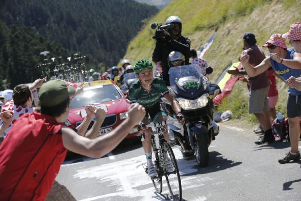 Voeckler es un ciclista del pueblo. Como buena parte de Francia, su fami...