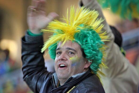Y para los aficionados brasileños, la segunda victoria fue motivo...