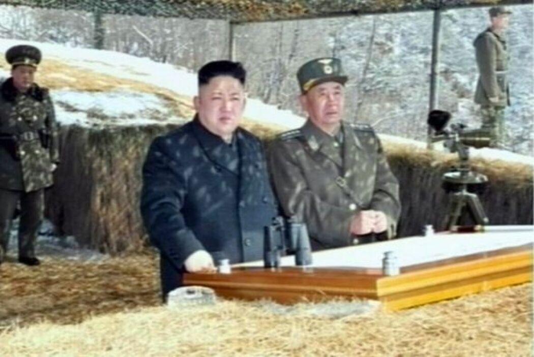 """21 marzo.- Pyongyang dice que tiene a su """"alcance de tiro"""" las bases mil..."""