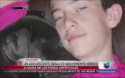 Un chico de 15 años sufrió heridas de gravedad cuando manipulaba pólvora