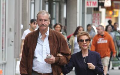 Vicente Fox y Marta Sahagún de Fox