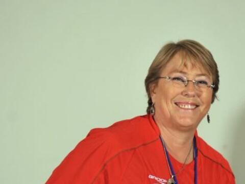 La ex presidenta de Chile Michelle Bachelet, asumió oficialmente su carg...