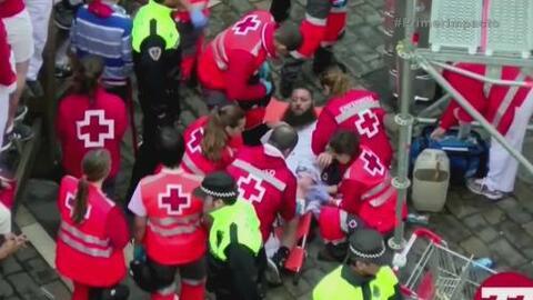 Seis heridos dejó una de las jornadas del polémico festival de San Fermín