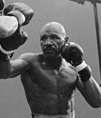 """Choque de """"bestias"""" El ugandés John Mugabi llegó para disputar el título..."""