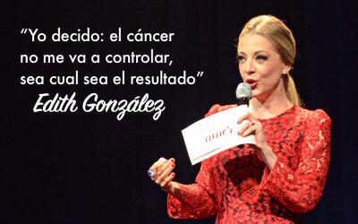 Edith González frase