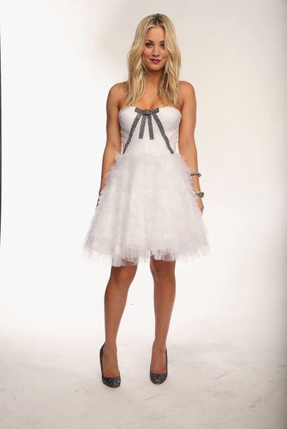 """20. Kaley Cuoco La sexy protagonista de """"The Big Bang Theory""""...."""