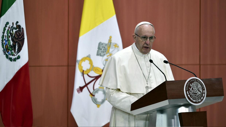 Papa Francisco México, Palacio Nacional