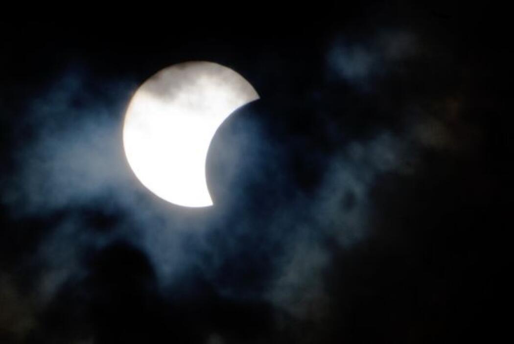 """El eclipse, fue retransmitido """"online"""" desde Sibioli por un grupo de ast..."""