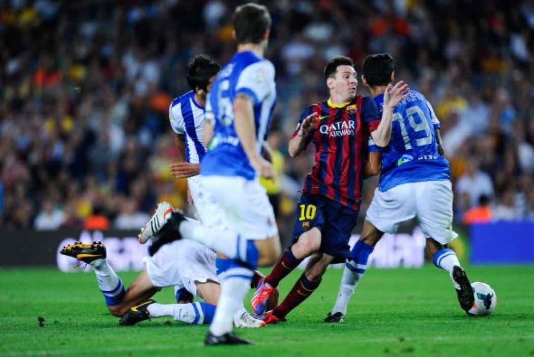 Luego de esto, seguiria el show de Messi, sin dejar de lado a 'Ney'.