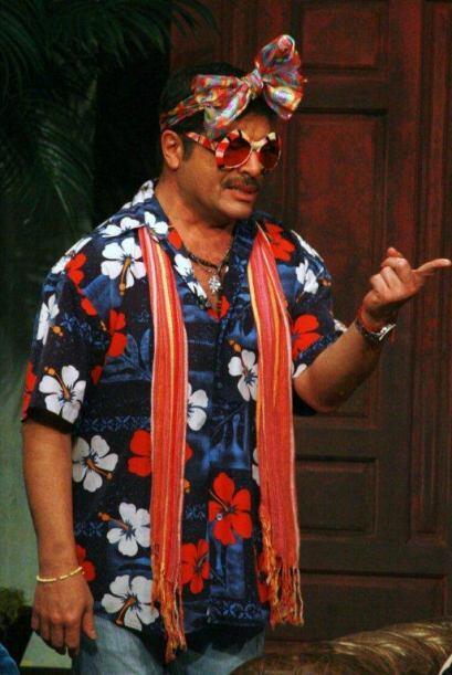 El juez fue el comediante Pepe Magaña que junto al público...