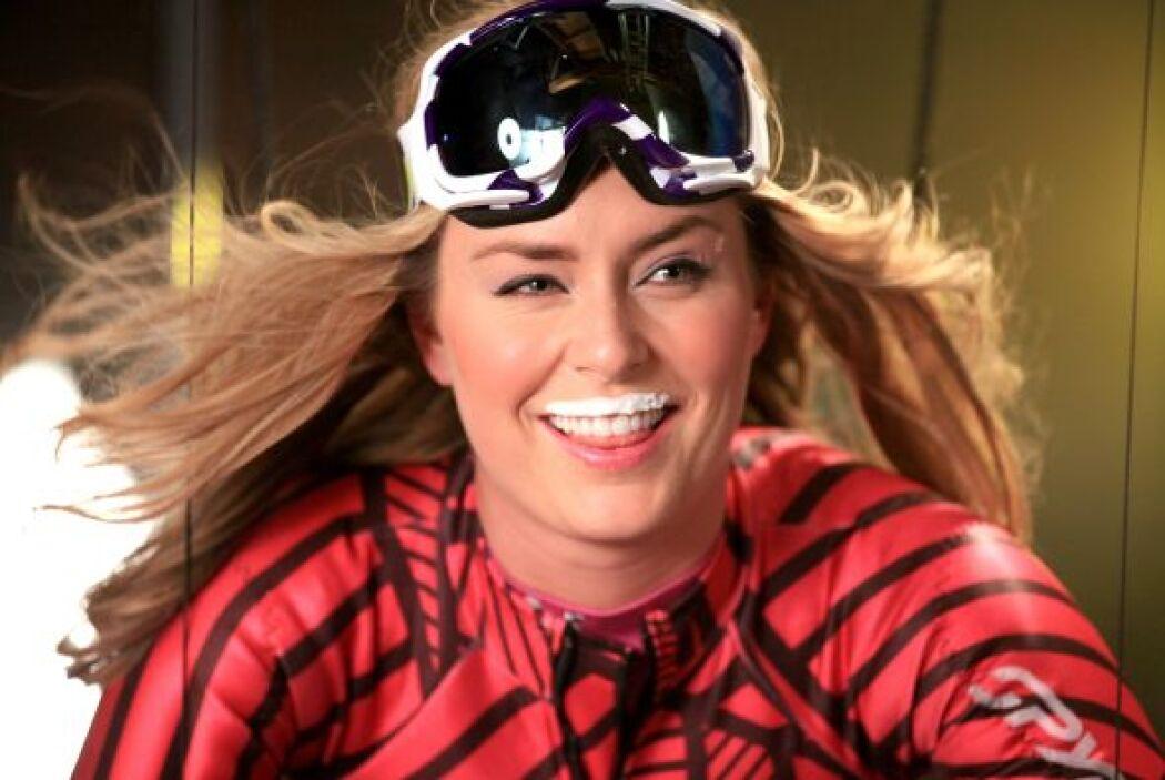 A Lindsey Caroline, le gusta la velocidad, las medallas olímpicas y la l...