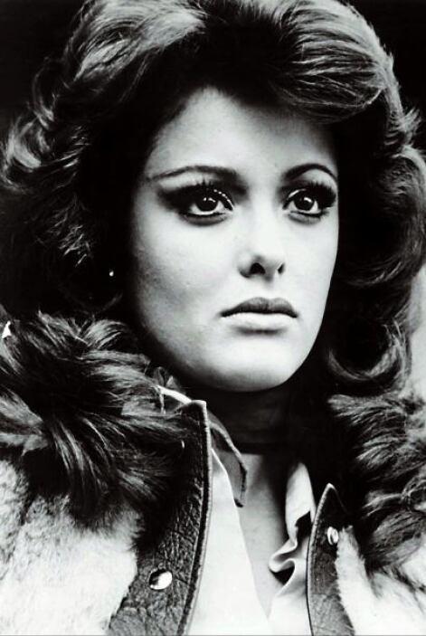 """Lucía Méndez cuando protagonizaba la telenovela """"Colorina"""", 1980."""