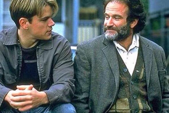 Williams formó parte del elenco junto a Matt Damon y Ben Affleck. Fotos...