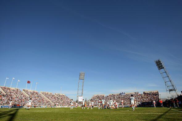 Allí se juegan algunos partidos del Torneo Argentino de Verano y...