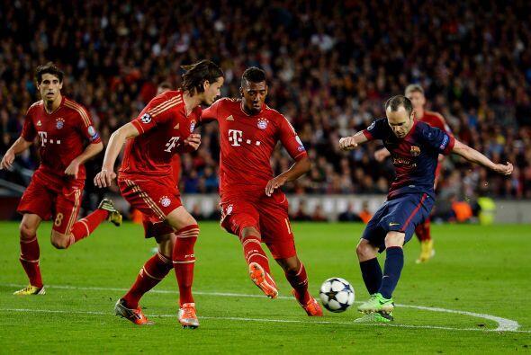 Pero los disparos del Barcelona apenas y aparecía en la parte final del...