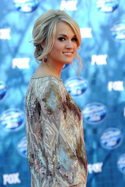 19. CARRIE UNDERWOOD- Salida del 'reality show' American Idol esta joven...