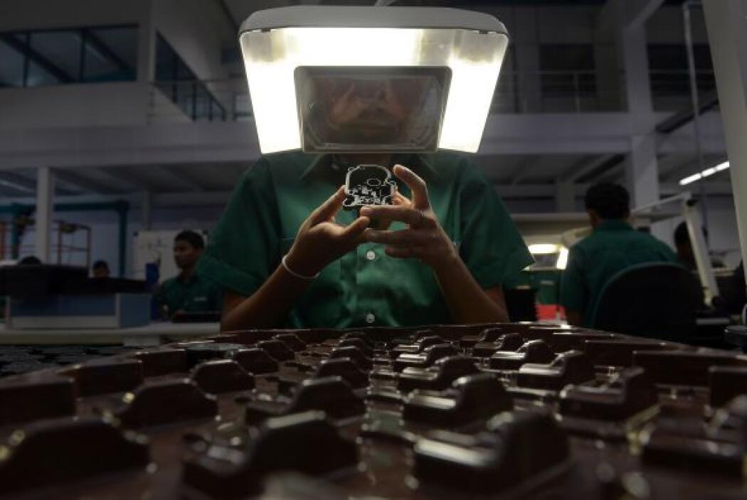 Una fábrica de troqueles en Sri Lanka nos regala esta sorprendente image...