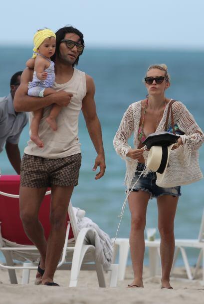 Falcao pasó unas vacaciones de ensueño con su familia en Miami. Todos so...