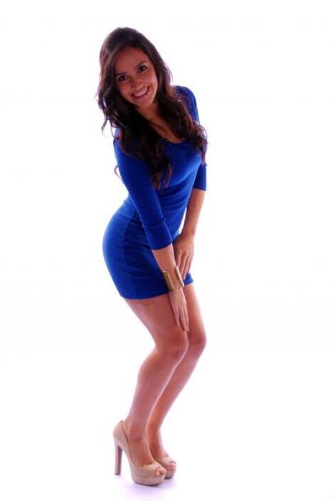 Diana representó también a Dallas en la competencia de Nuestra Belleza L...