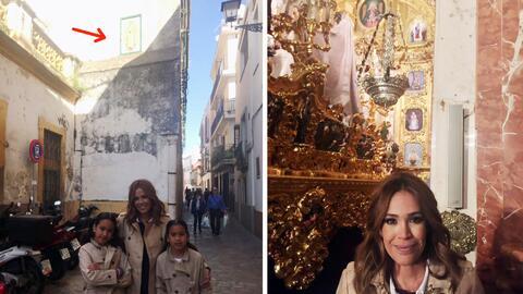Karla Martínez se fue a buscar a la Virgen de Guadalupe por las calles e...