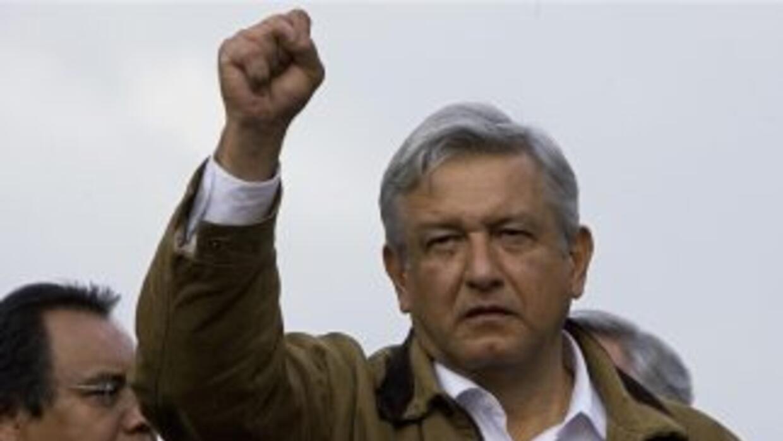 Andrés Manuel López Obrador es un político de izquierda que en 2006 perd...