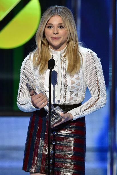 Chloe Grace Moretz triunfó por 'If I Stay'.