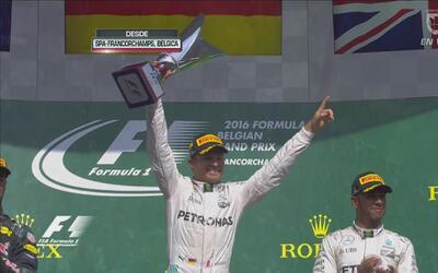 Nico Rosberg ganó el Gran Premio de Bélgica de Fórmula 1