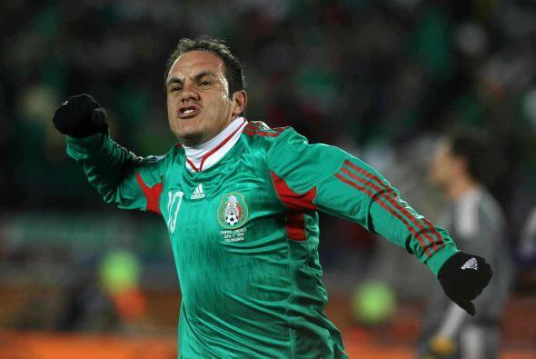 El 10 de México se mantendría activo al grado de que Javier Aguirre volv...