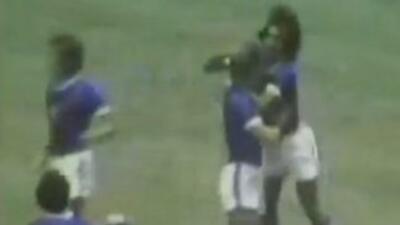 Cruz Azul aplastó al América en la final de 1972.