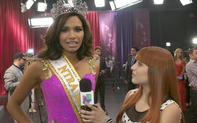 Gaby recibió  el pase para Nuestra Belleza Latina 2020