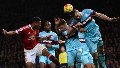 Manchester United y West Ham terminaron sin goles