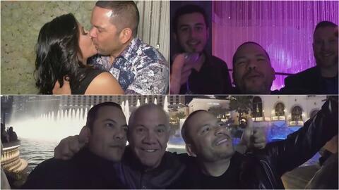 Así fue la despedida de soltero del cantante Michael Salgado en Las Vegas