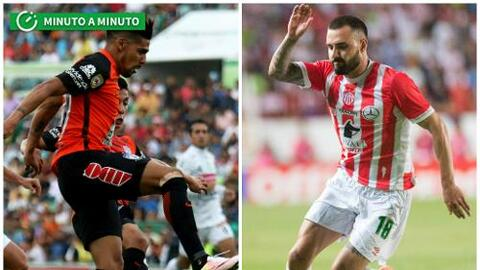 Minuto a minuto Pachuca vs Necaxa