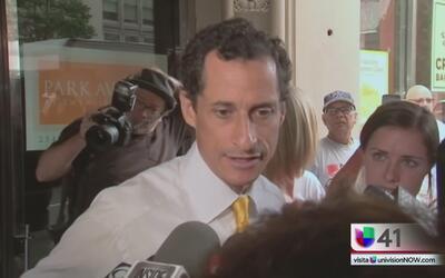 Anthony Weiner ingresa a centro de rehabilitación