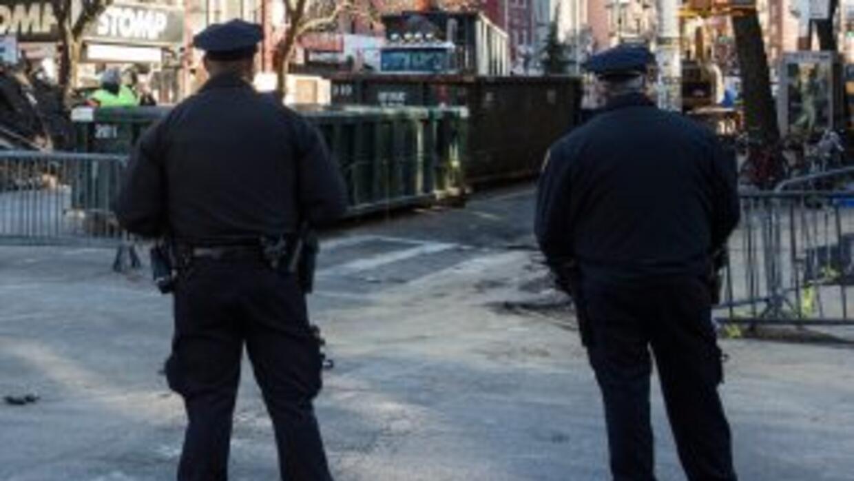 Policías de Nueva York.