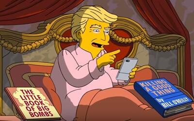 Donald Trump vuelve a aparecer en un capítulo de The Simpsons.
