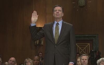 Comey hablará públicamente ante el comité de inteligencia del senado sob...