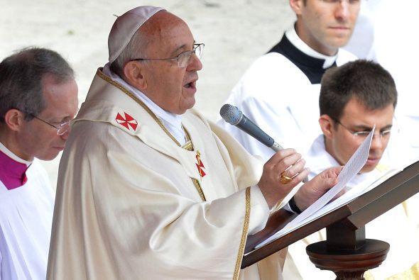 La Homilía del papa Francisco.