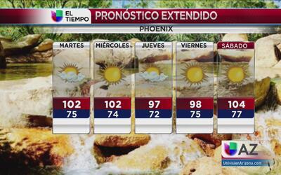 Continúa el calor en Arizona