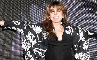 Verónica Castro defendió las locuras de su hijo Cristian Castro