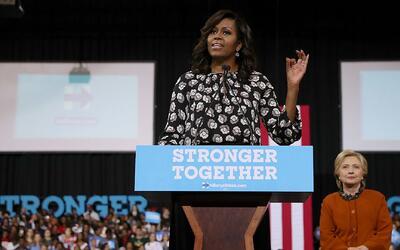 Michelle Obama: Nosotros tenemos que ser los líderes que sus hijos merecen