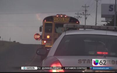 Operativo contra conductores que atentan contra seguridad de menores